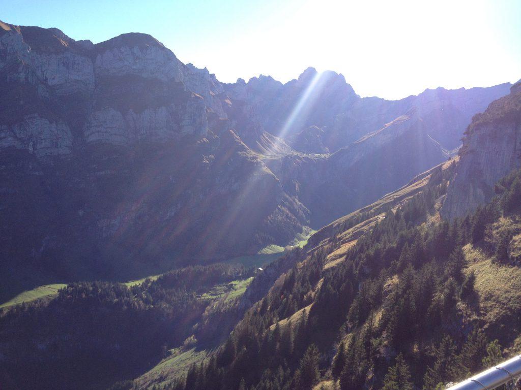Appenzellerland_ebenalpbergsonne